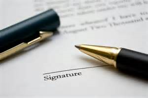 Sign contract(Pd)