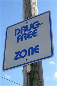 Drug free zone (pd)