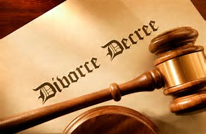 Divorce decree (pd)