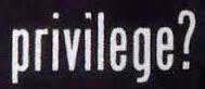 Privilege (pd)