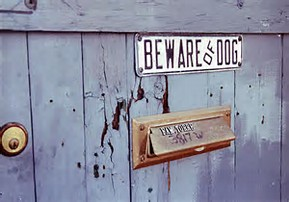 Beware of dog (pd)